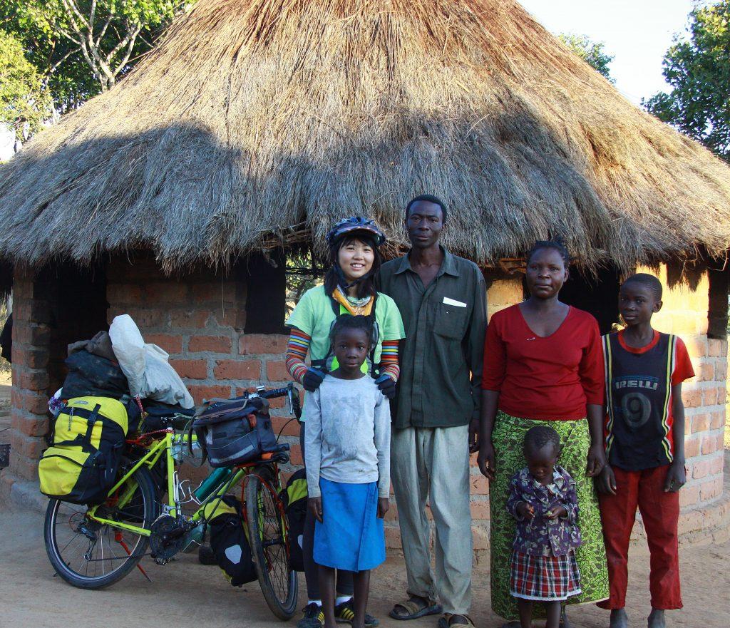 아프리카 자전거 여행 시작 (브라질에서 남아공으로 비행기 타고 감)