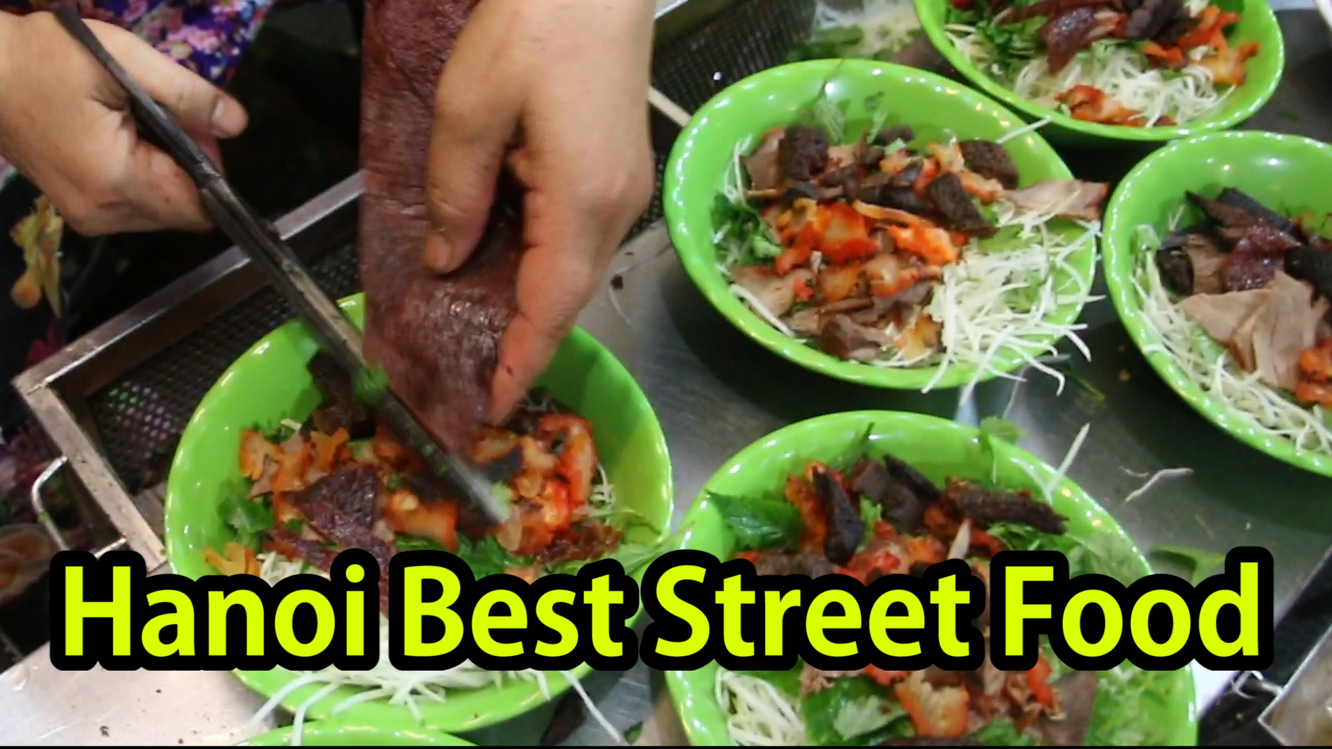 Top 9 Best Hanoi Vietnamese Street Foods Tour in Vietnam 2017 - Cycling Around The World